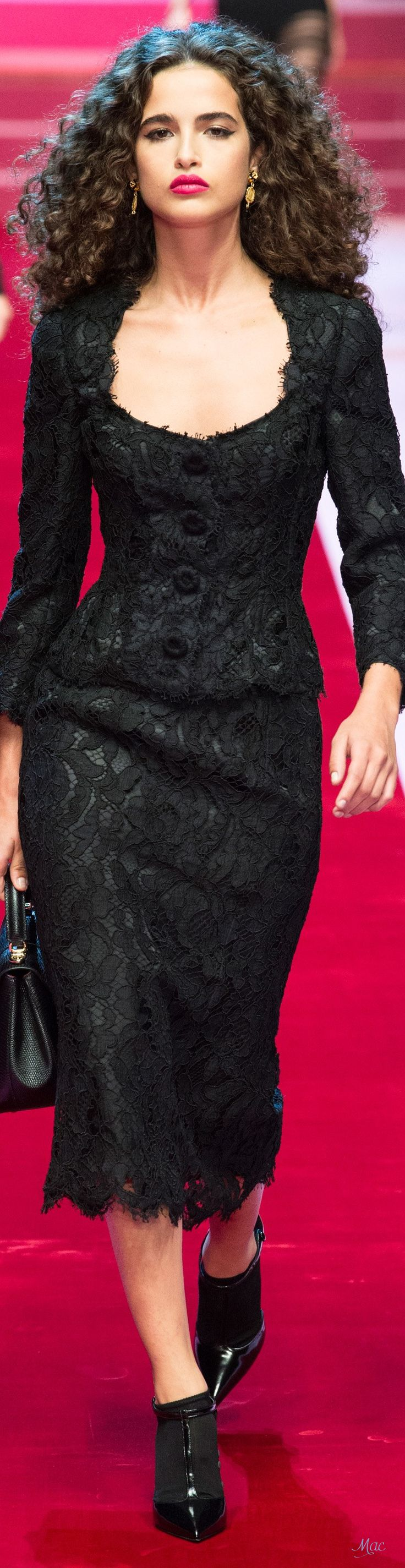 Spring 2018 RTW Dolce & Gabbana