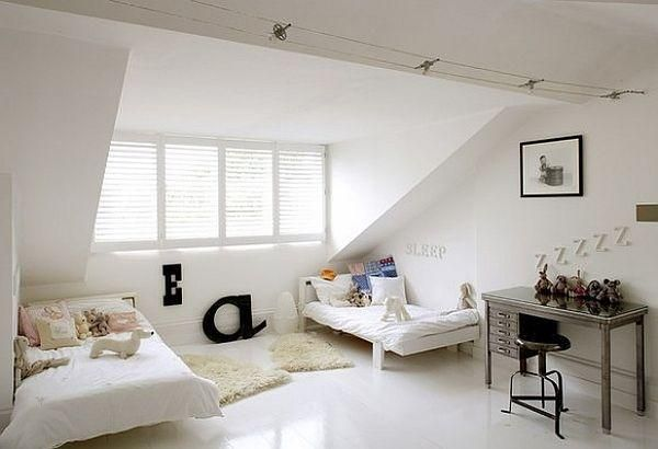 Modern Cool & Fancy Functional: 32 Attic Bedroom Design Ideas - 4homedecoration