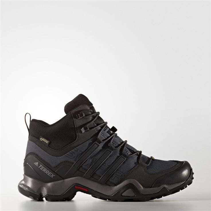 adidas Terrex Swift R GTX, Chaussures d'Athlétisme Homme, Noir (Core Black/Dark Grey/Power Red), 40 EU