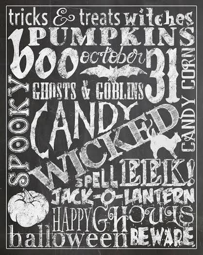 Free Halloween Printables - Pretty My Party #free #halloween #printables