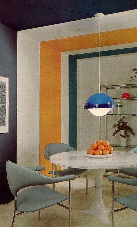 Die Besten 25+ 50er Jahre Stil Küchen Ideen Auf Pinterest 50er   Esszimmer  50er