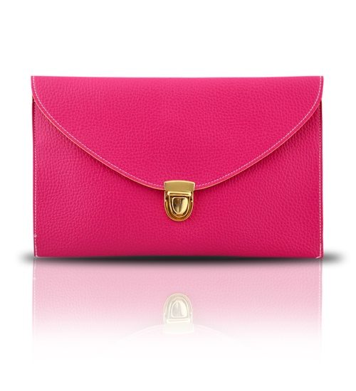 GOTG Fuchsia Clutch on glamouronthego.co.uk