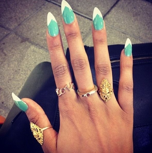 91 best nails images on pinterest long nails kawaii nails aww i miss my long nails and this makes me want to get them back pointy nailsstiletto nail artshort prinsesfo Gallery