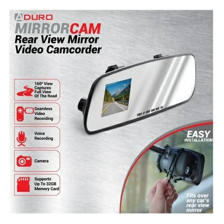 Rear View Mirror with Video Camara – auto parts – by owner