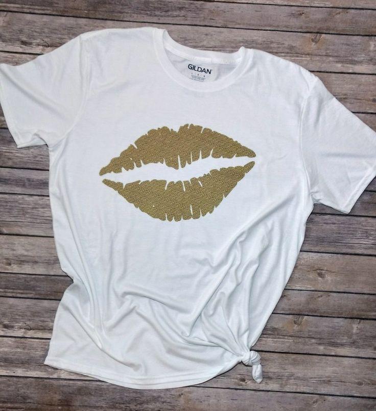 Animal Print Lips Tee