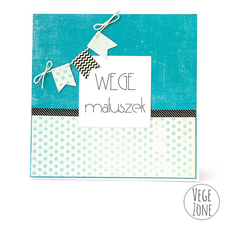 Card for a vege baby! http://vegezone.pl/51-kartki