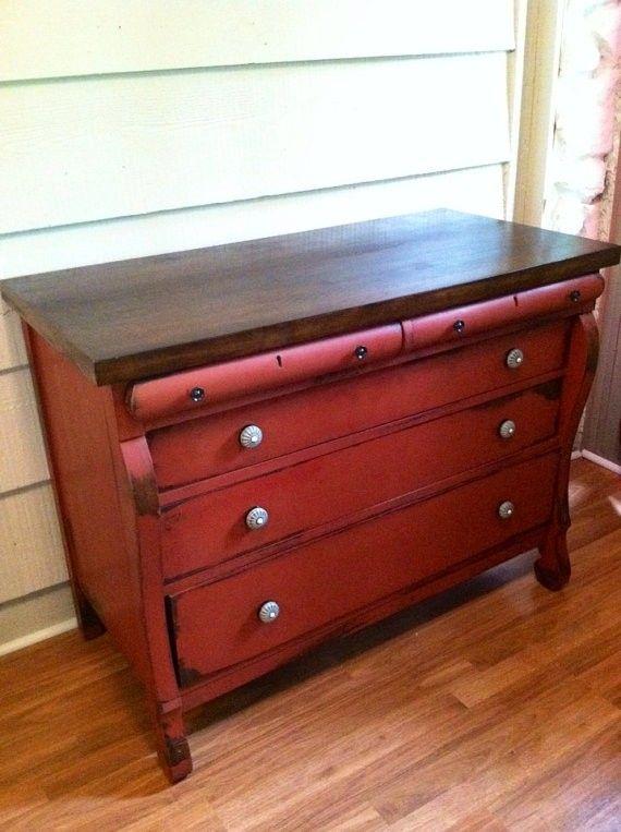 Black Solid Wood Dresser - Foter