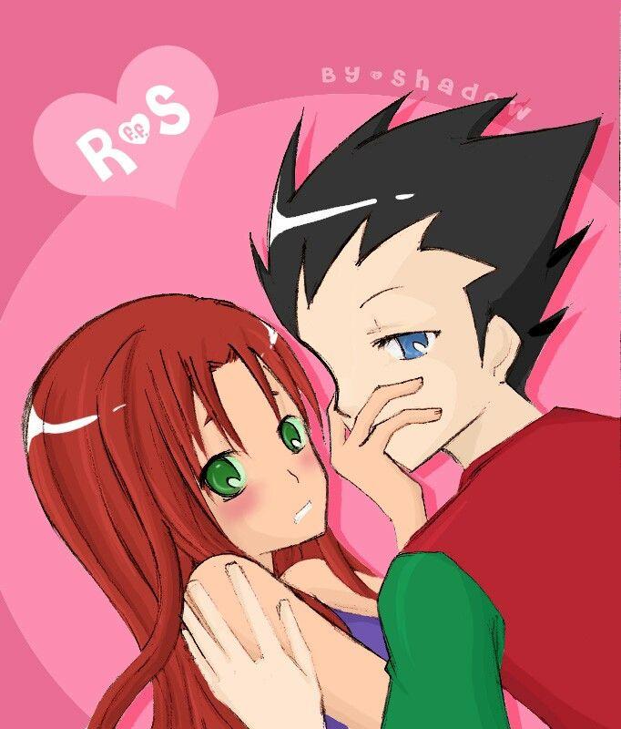 Kiss - starfire & robin