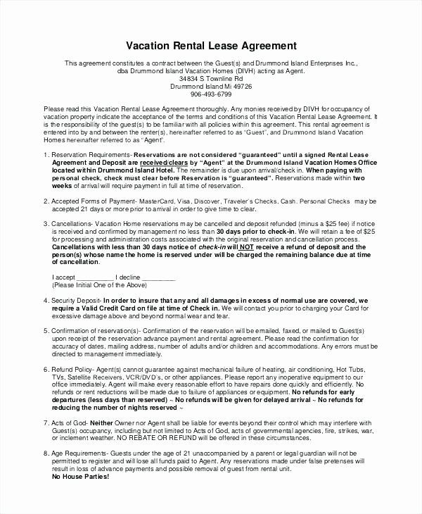 Weekly Rental Agreement Template Inspirational Weekly Rental Agreement Template Inntegra Rental Agreement Templates Weekly Rentals Lease Agreement