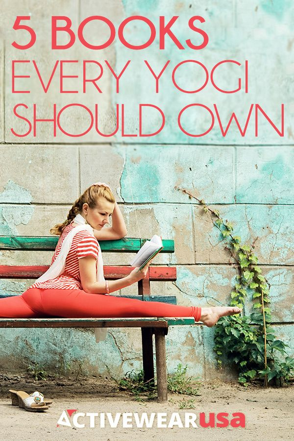 Check out these 5 books that are recommended from a yoga teacher