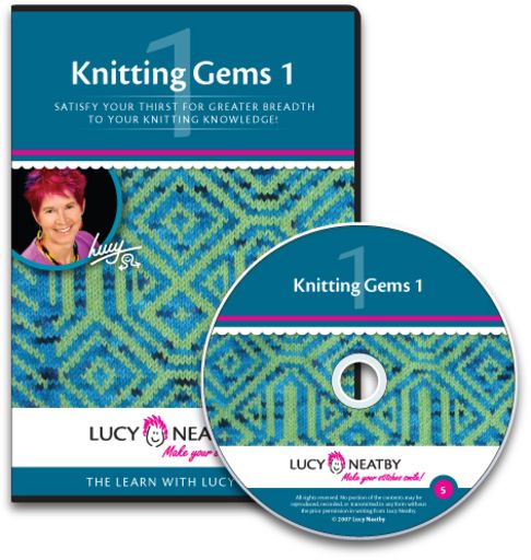 Knitting Gems 1 covers a range of invaluable techniques to expand your knitting skills: applied edges, buttonholes, picot finishes, and more.