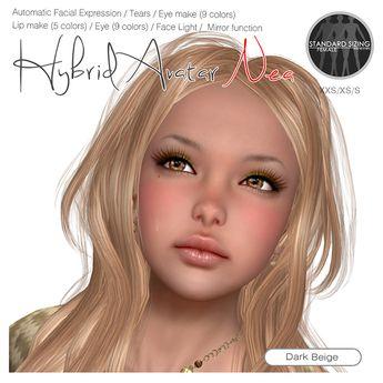 S@R Hybrid Avatar Nea Dark Beige_ver.1.22