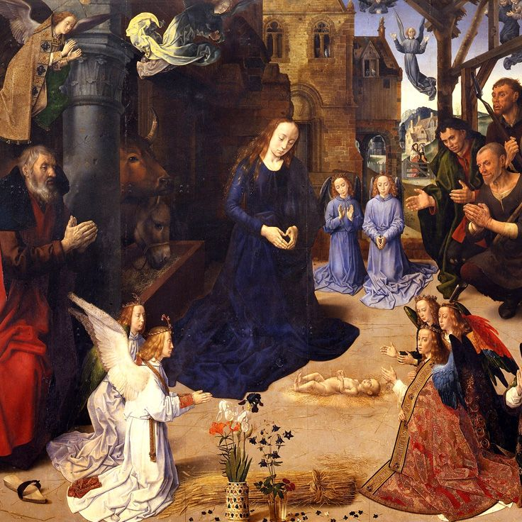 Hugo van der Goes – Portinari Altarpiece (c. 1475)