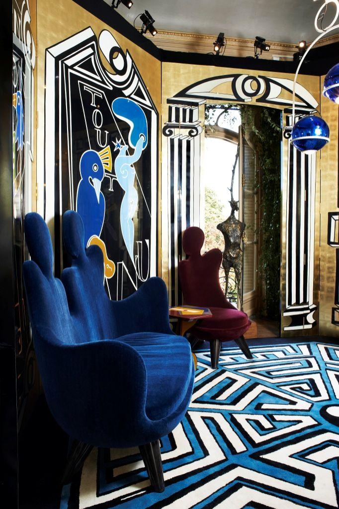 30 Best Images About Hallways On Pinterest Blue Gold