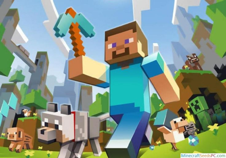 Minecraft Seeds Wallpaper Mobs