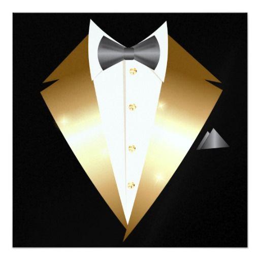 Tuxedo Black Tie Event - SRF - http://www.zazzle.com/tuxedo_black_tie_event_srf-256074705391105444