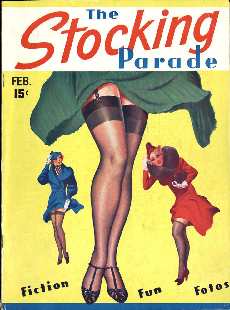 Recollect vintage stocking magazines