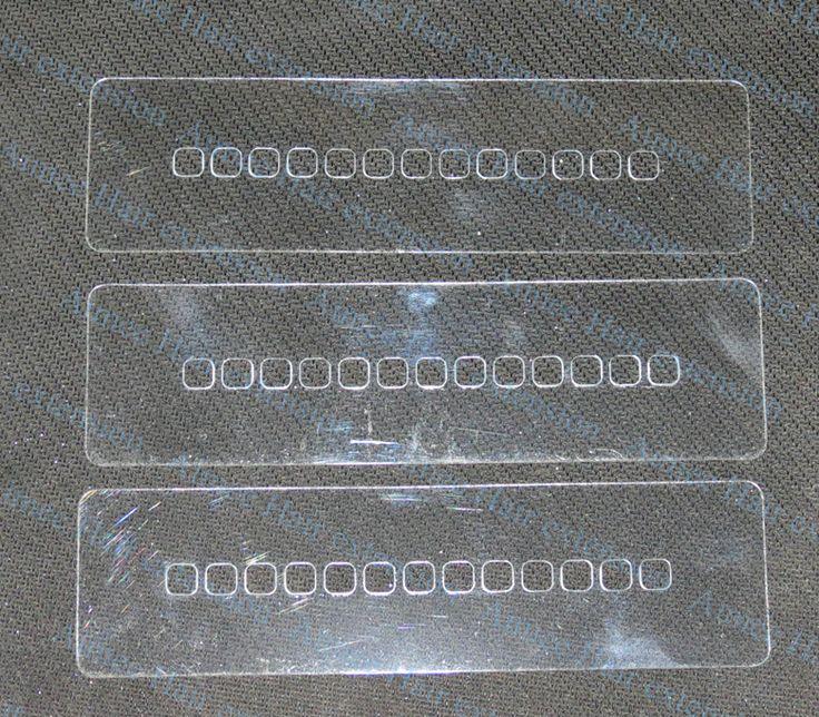 100 unids pelo rectángulo escudo ( 13 agujero ) / plástico fusión de calor de plantilla de escudo protector para inclino la extensión del pelo