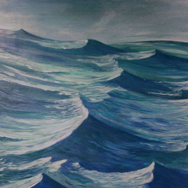 La mer Arturo Mranda #painter #art #artworks  #arturomiranda  #landscape #oiloncanvas  #oceans #savetheocean #mar #enviromental #oceans  #lovetheocean  #paiting #mediterraneosea  #mediterranean #art_worldly #navegando  #sailing #tidalwaves #olas #margruesa  #mareas #instaartist #picture #pictureoftheday