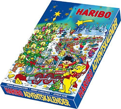 Haribo Calendrier de l'Avent: Bonbons Haribo Etui carton Ne convient pas aux enfants de moins de 3 ans L'article Haribo Calendrier de…