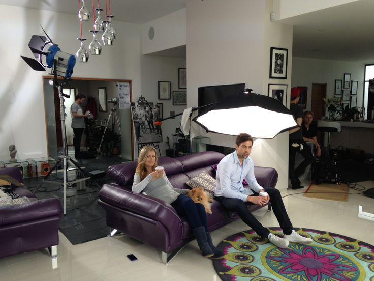 The crew preparing to shoot another #modernman sequence for the #OriginTVad #anewspeciesofdoor
