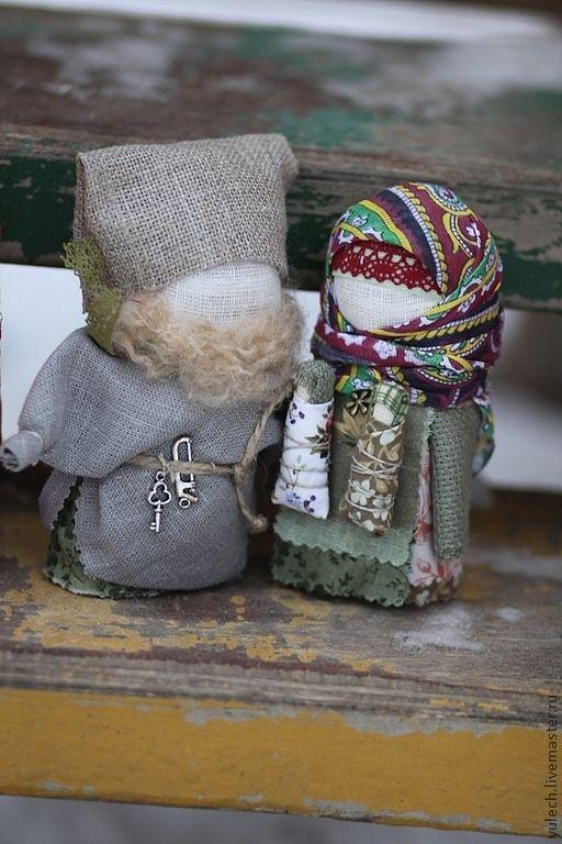 """Купить Куколки """"Богач и женушка-крупеничка"""" - семья, дети, подарок семье, рождество, рождественский подарок"""