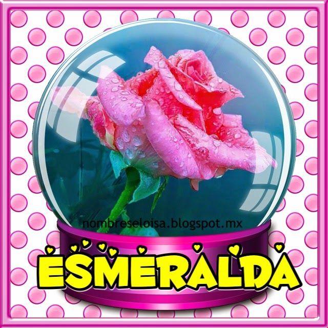 """Nombres """" Eloisa """": Nombres con Rosa en esfera"""