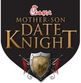 Mother-Son Date Knight Fort Worth, TX #Kids #Events