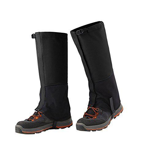 Legging Gaiter, Waterproof Windproof Hiking Gaiters Leg Gaiters Snow Gaiters for Outdoor Walking Climbing Snow Legging Gaiters--8.48