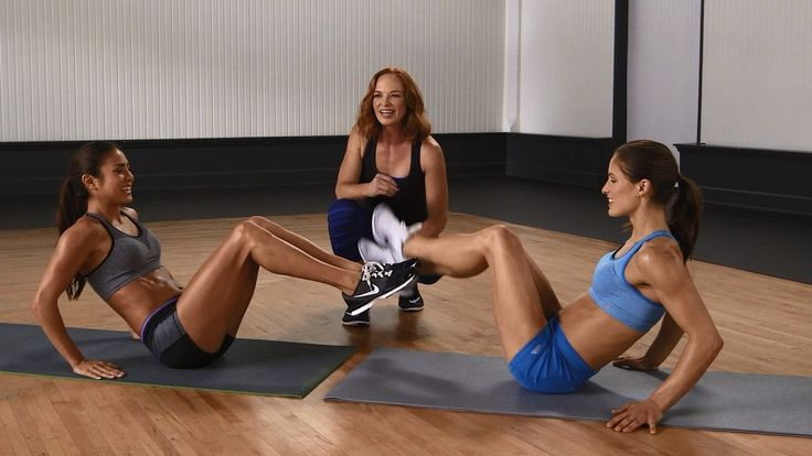 Quick No Equipment Partner Ab Workout - Fun and Challenging!