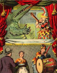 Punch and Judy with Crocodile