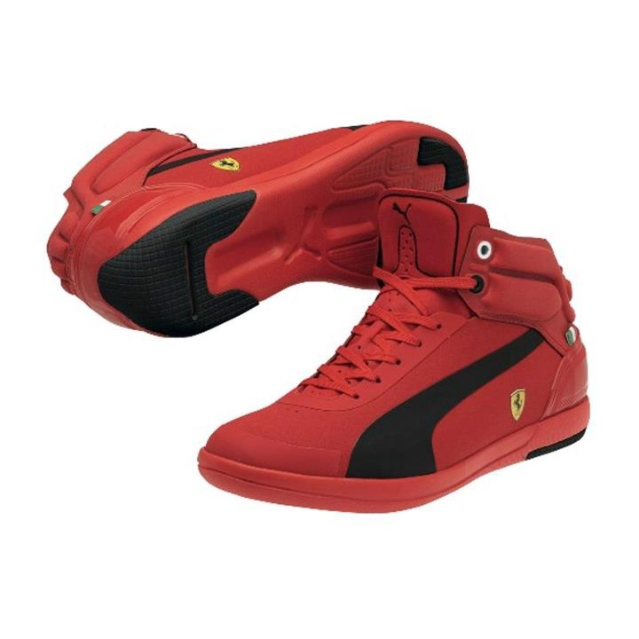 Puma Red Ferrari Shoes