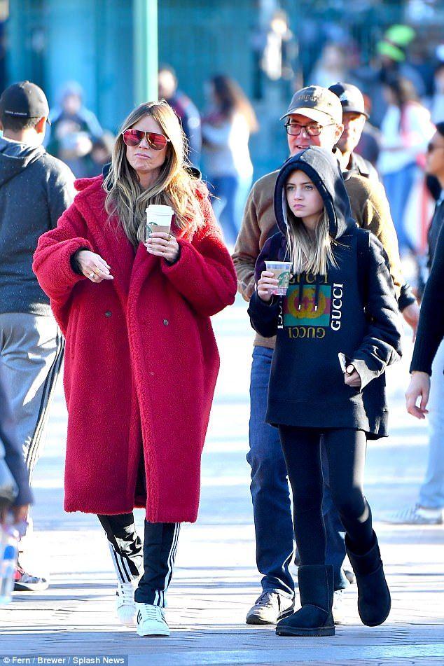 Heidi Klums Daughter Leni 13 Is Her Moms Mini Me Fashion