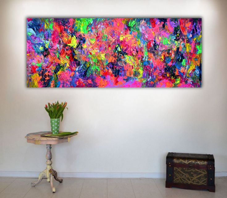 Buy Dischromy 3 - 150x60x2 cm - Big Painting XXXL - Large Abstract, Supersized Painting - Ready to Hang, Hotel Wall Decor, Acrylic painting by Soos Tiberiu on Artfinder. Discover thousands of other original paintings, prints, sculptures and photography from independent artists.