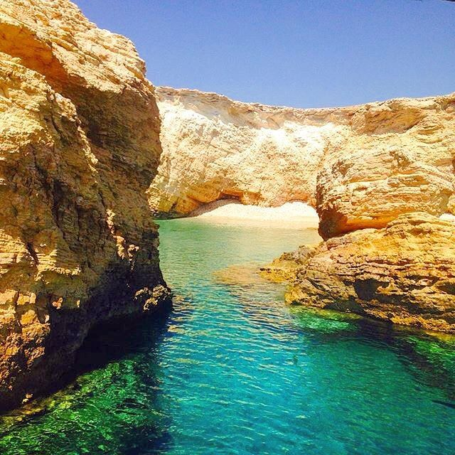 Explore the unique Koufonisia island (Κουφονήσια)❤️. Enjoy this private beach and feel the nature just like old times ...☀️! Wild beauty and crystal clear-water , the perfect combination .