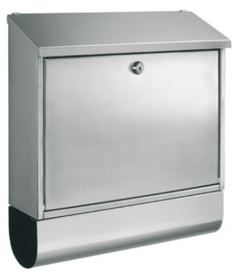 Stainless Steel Mail Post Letter Box Postbox, Letterbox