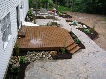 Deck And Patio Designs | Patio And Deck Combination Design Ideas, Pictures,  Remodel,