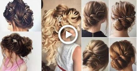 Most Elegant and Beautiful Wedding Hairstyles 2017  ||  Most Beautiful Easy Wedding Hairstyles #hairstyles #promhairupdotutorial