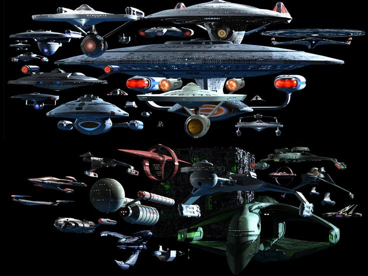 star-trek:  TREK Ships Desktop Screenshot by Carthoris