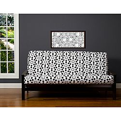 Well Rounded Black/Grey/White 6-inch Full-size Futon Cover | Overstock.com Shopping - Big Discounts on SIScovers Other Slipcovers