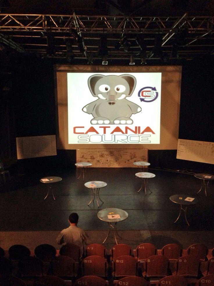 Waiting for #cataniasource