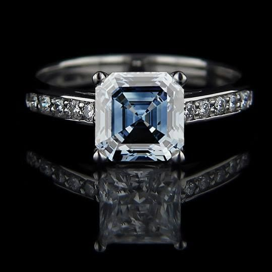 45 best images about blue sapphire rings on pinterest for Man made sapphire jewelry