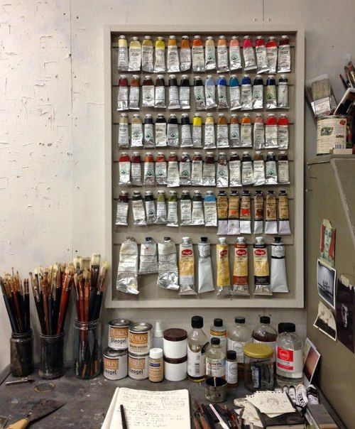 Imagen De Art Paint And Aesthetic Art Supplies Love