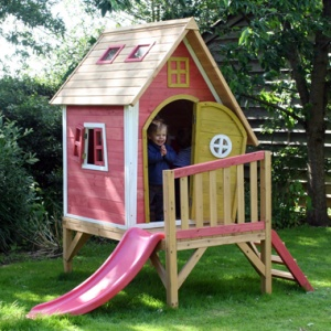 Crooked Tower Play House - Wooden Playhouse for kids