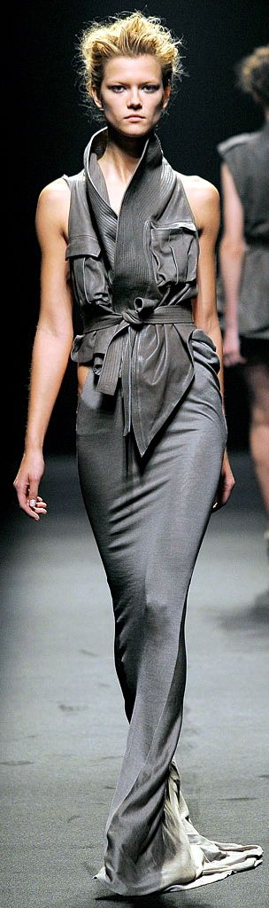 Haider Ackermann. I love the fit, shape and style of this. What a divaz! Wild Side Destinations