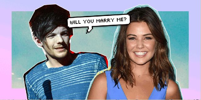Has One Direction's Louis Tomlinson proposed to girlfriend Danielle Campbell?  - Sugarscape.com