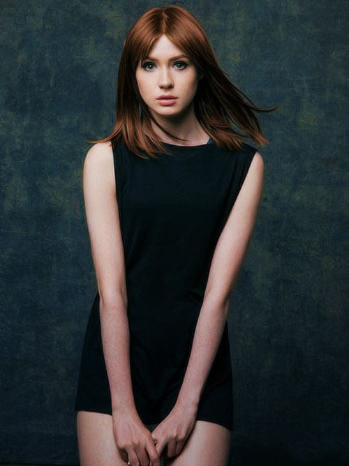 "Karen Gillan (Born: Karen Sheila Gillan - November 28, 1987 - Inverness, Highland, Scotland, UK) as Amelia ""Amy"" Pond"
