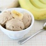 Peanut Butter and Banana ice cream | Ninja Blender Recipes that the Whole Family Can Make!