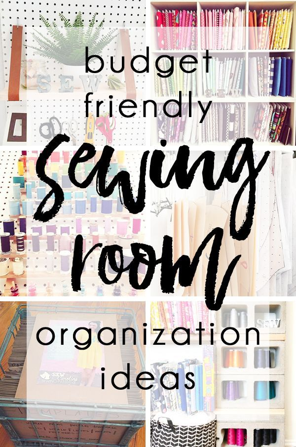 Budget Friendly Sewing Room Organization Ideas Sewing Room