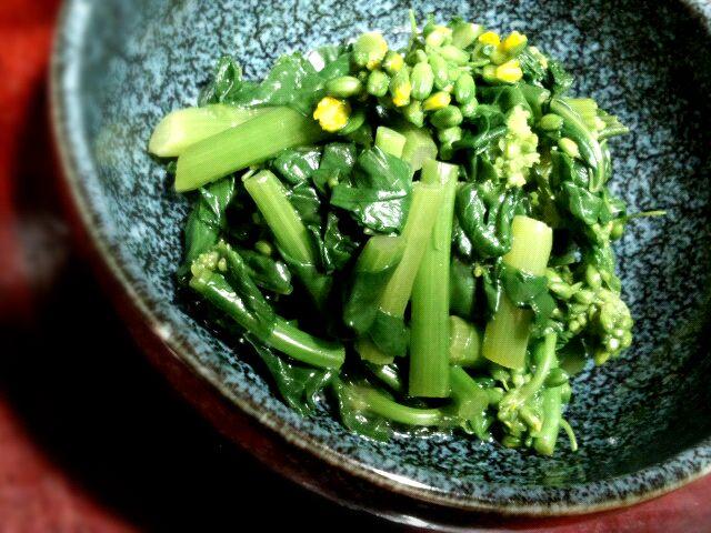 春ですね(*´∀`*) - 10件のもぐもぐ - 菜の花のからし和え by silva299